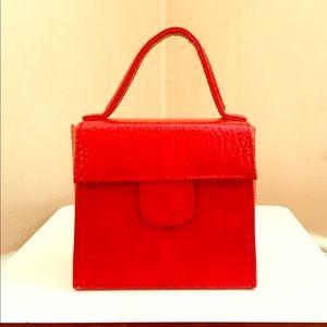 Handbags - Betsy Johnson Red leather handbag